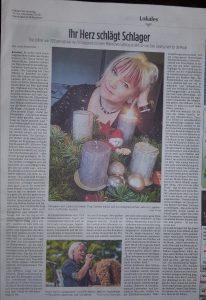 """Ein Interview mit mir im """"märkischen Sonntag"""""""