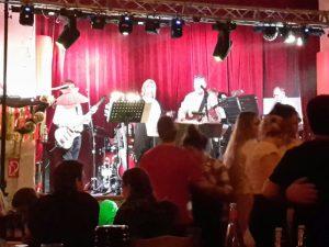 Fastnacht in Ratzdorf - ich als Gastmusiker bei Elektra 68
