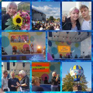 Ich konnte das Hoffest eröffnen und im Vorprogramm von Alexander Knappe auftreten
