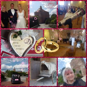 Romantisch und unbeschreiblich emotional - die Trauung von Nicole und André in der Peiter Festung