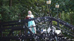 Musikalische Begrüßung eines Brautpaares in Lehde/ Spreewald