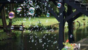 Seifenblasen gehören für mich zu jeder Trauung - sie haben so etwas bezauberndes, was nicht nur Kinder fasziniert