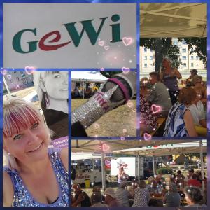 Mit Schlagern und Evergreens konnte ich den Nachmittag musikalisch beim Mieterfest der GeWi gestalten