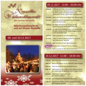 Märchenhafte Weihnacht im und am Kloster in Neuzelle