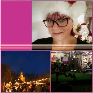 Als Familien Duo auf dem Weihnachtsmarkt in Neuzelle
