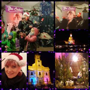 In malerische Kulisse fand der diesjährige Weihnachtsmarkt auf dem Klosterhof in Neuzelle statt
